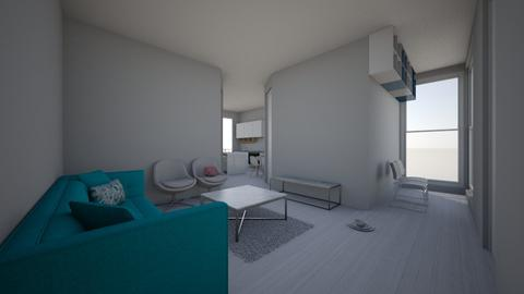 apartamento789 - Glamour - Living room - by kelly lucena