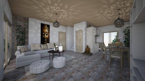 Cala House - Living room - by Lisett