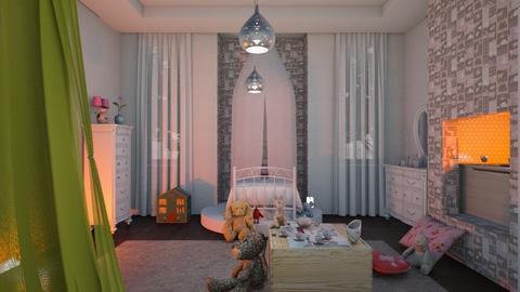 Girl - Feminine - Bedroom - by The quiet designer