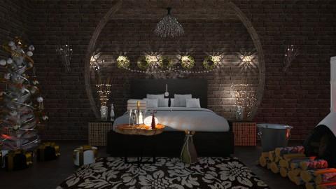 Christmas Bedroom - by ZuzanaDesign