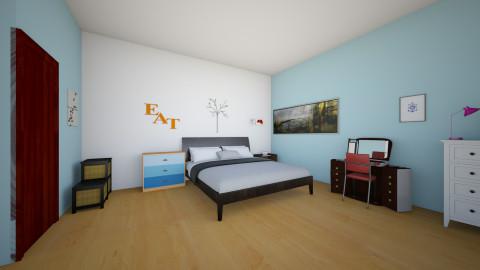 room - Bedroom - by Emelyn Cristal Rosario