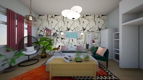 eclectic - Bedroom - by ian000