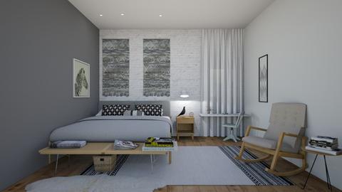 410 16 - Modern - Bedroom - by Riki Bahar Elbaz