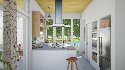 Marlboro Kitchen - Eclectic - Kitchen - by russ