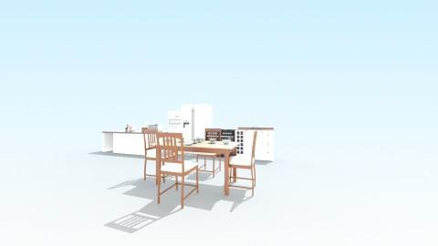 konyha - Kitchen - by Petra Pozsgai