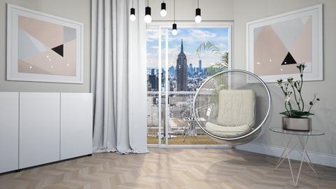 Haring Oak - Minimal - Living room - by ScillaSiberica