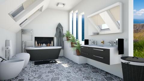 Maui - Modern - Bathroom - by LadyVegas08
