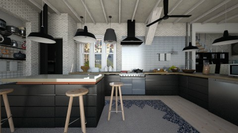 kitchen - Modern - Kitchen - by sometimes i am here