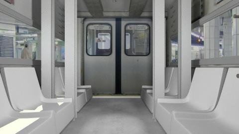 Train001 - Classic - by Ivana J