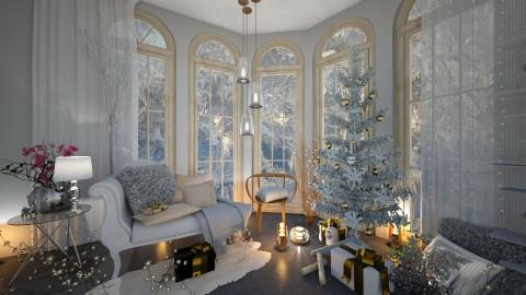 Christmas Feelings - Living room - by Milapr