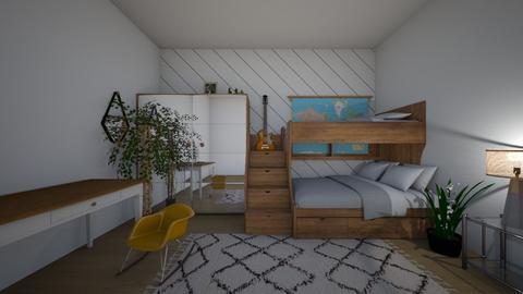 teen bedroom - Modern - Bedroom - by kaleighsksk