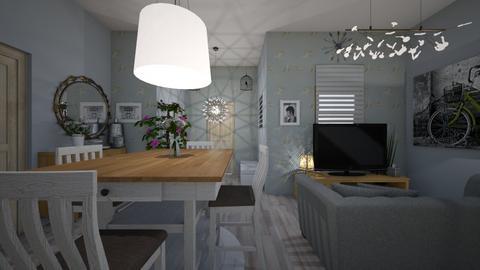 pani Kasi - Living room - by Zuzia2006
