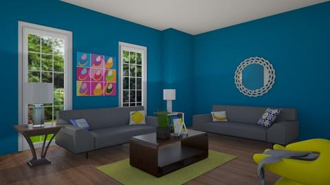 Modern Living Room - by Love2Create