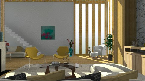Lloyd Wright  - Eclectic - Living room - by giulygi