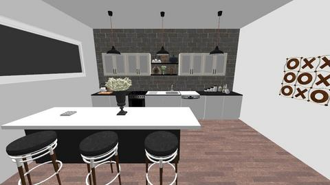 Coastal Kitchen - Modern - Kitchen - by absarecool