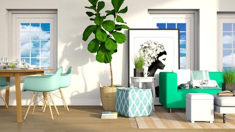 Oceanic - Modern - Living room - by millerfam