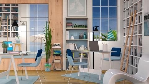 Nautical Office - Modern - Office - by Sally Simpson