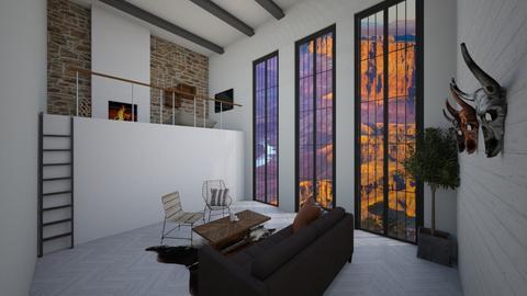 Rustic Living - Rustic - Living room - by helsewhi
