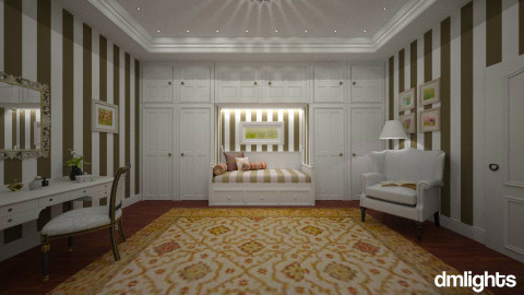 Romance - Classic - Bedroom - by Claudia Correia
