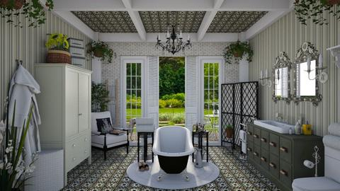 Design 446 Bohemian Bathroom - Bathroom - by Daisy320