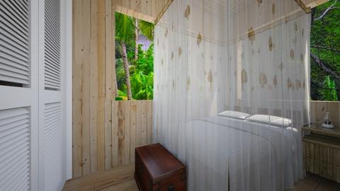 Hut Bedroom - Bedroom - by SammyJPili