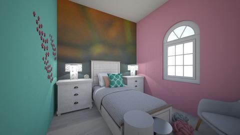 Mermaid_Bed - Kids room - by RaeCam