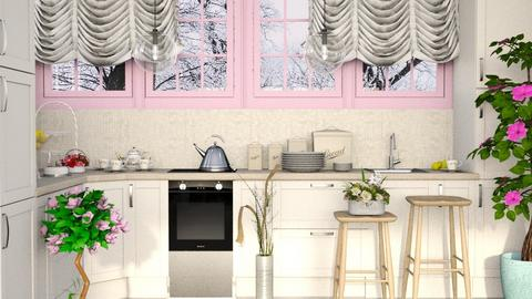 Shabby Chique Kitchen - Kitchen - by millerfam