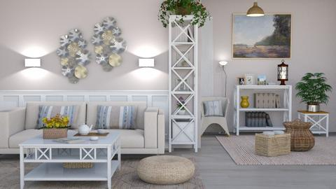 M_ Mix - Country - Living room - by milyca8