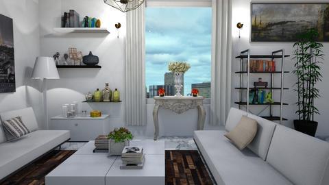 Cozty - Living room - by HazelEvangelista