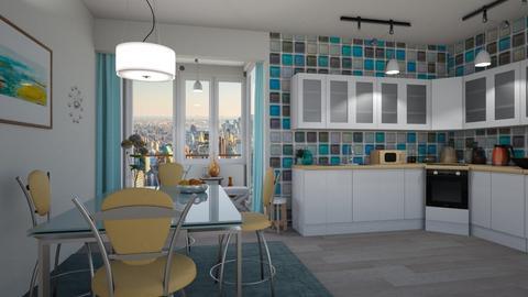 M_ New - Modern - Kitchen - by milyca8