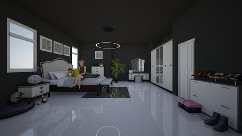 Bedroom 1 - Modern - Bedroom - by lisajohnson616