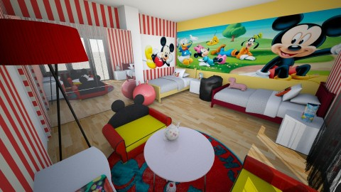 Mickey Mouse - Bedroom - by deleted_1507194263_AMsladic