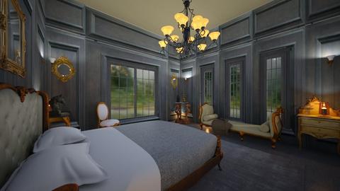 Dark Panels - Bedroom - by yonvie