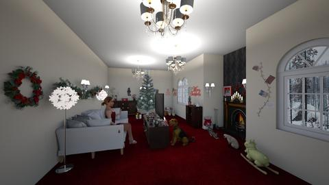 Christmas Paradise - Living room - by Luamerava