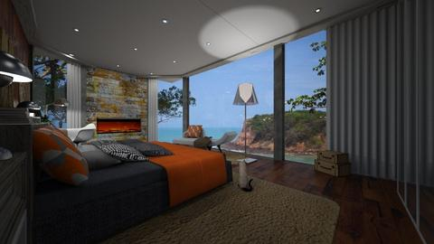 Window - Rustic - Living room - by nanabpf