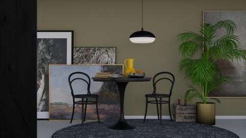 Table 4 2 - Modern - Dining room - by HenkRetro1960