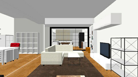 SALON PLANO COMPLETO - Living room - by parrastaka