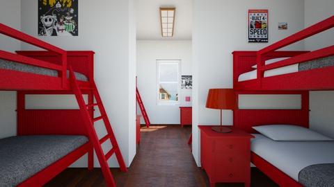 Bunk Room - Kids room - by SammyJPili