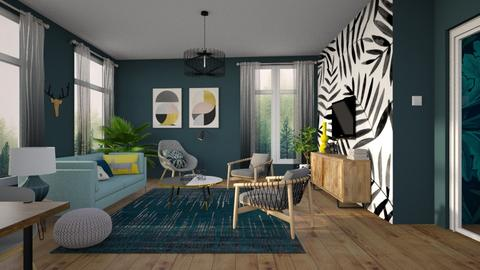Template 2019 LR - Living room - by Liu Kovac