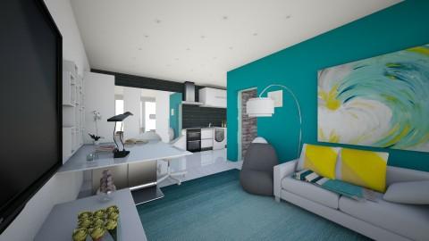 lakasnappali2 - Living room - by Bobikee