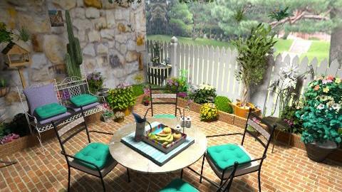toscany - Rustic - Garden - by Cejovic Andrijana