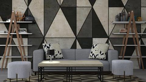geometric - Living room - by BortikZemec
