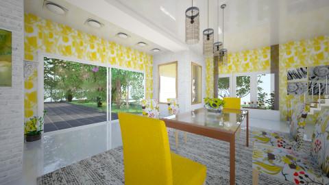 Solea - Retro - Dining room - by Saj Trinaest