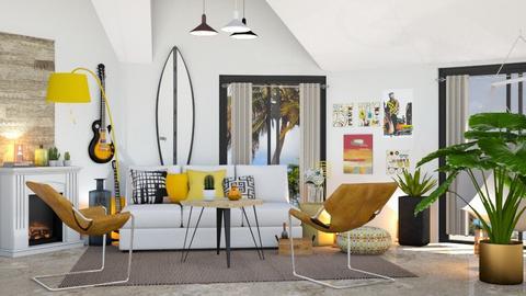 Surf Pop - Living room - by zarky