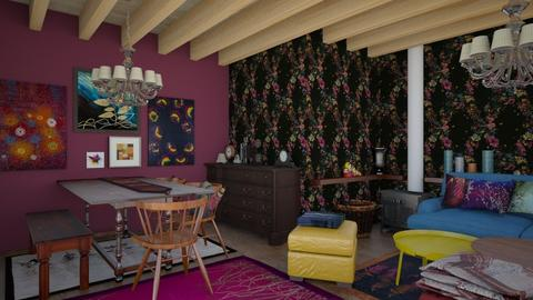 gipsy style 5 - Living room - by macus