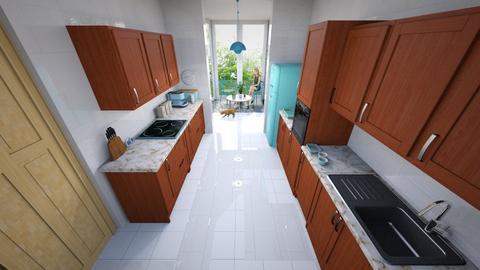 Kitchen and Conservatory - Kitchen - by kwagstaff123
