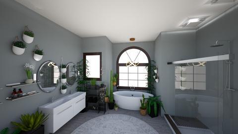 Urban Jungle Bathroom - Bathroom - by awhite946