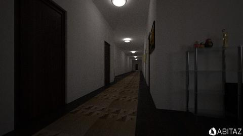 Hallway and Living room - Office - by DMLights-user-2186883