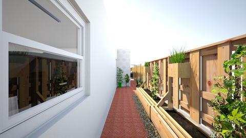 new home side gate - Minimal - Garden - by Stephanie Felix