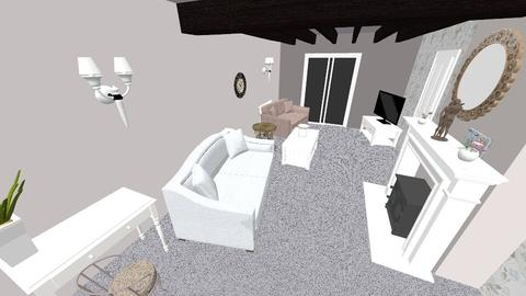front room project  - Glamour - Living room - by Interiors by Hayley